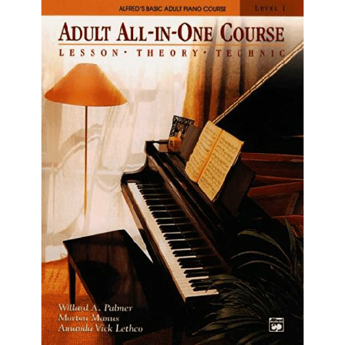Adult All-In-One Course: Lesson, Theory, Technic
