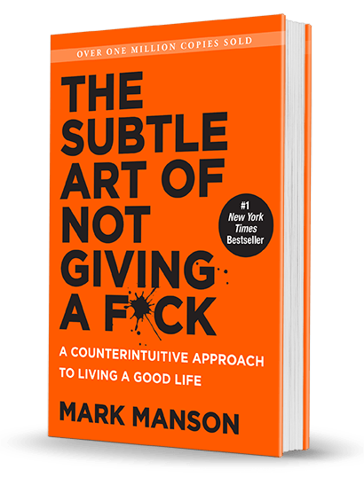 The Subtle Art of Not Giving a F*ck book