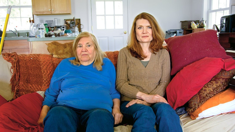 Jeannette Walls and her mother
