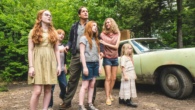 The moment in the Glass Castle movie