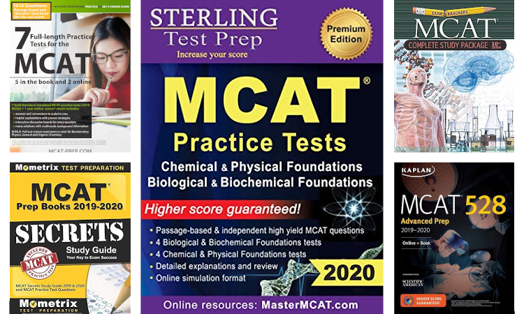 Best MCAT prep books for study and practice in 2020