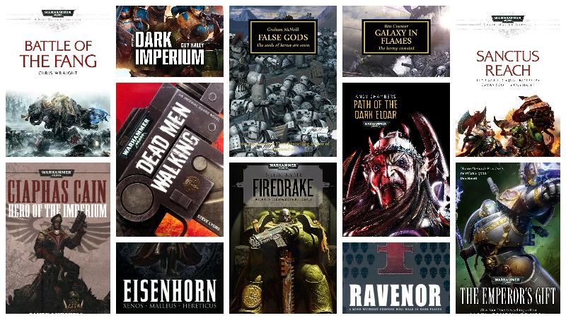 Best Warhammer 40k books to read