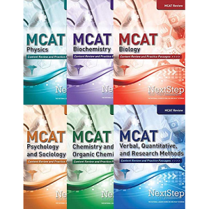 NextStep MCAT Complete Review 6-Book Series