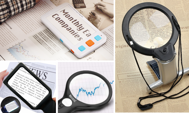 Best magnifier for reading books