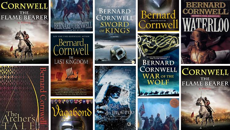 Top 10 books by Bernard Cornwell