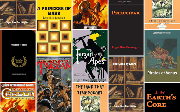 Top 10 books by Edgar Rice Burroughs